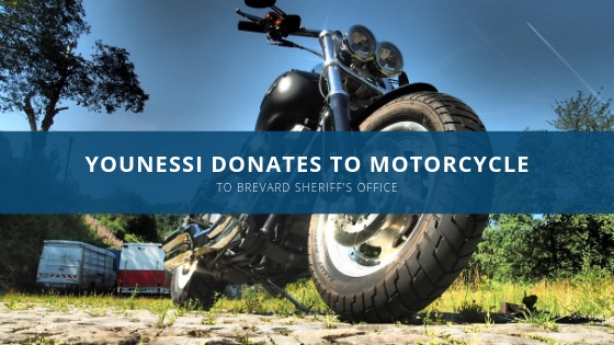 younessi donates harley to police