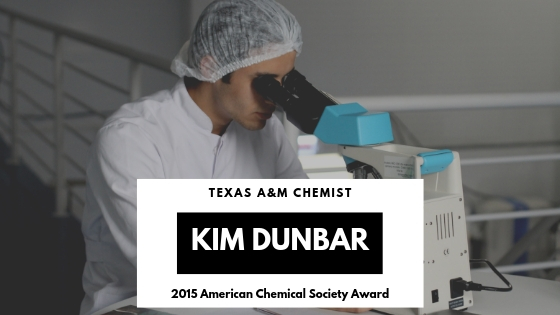 Texas AM Chemist Kim Dunbar Earns American Chemical Society Award