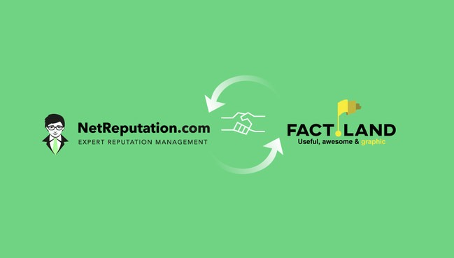 NetReputation Partners With Factland
