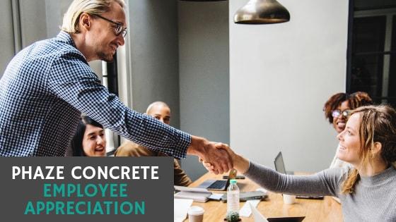 Phaze Concrete Does Employee Appreciation Right 2018