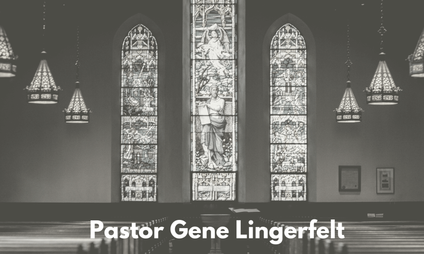 Pastor Gene Lingerfelt Importance of Giving 55