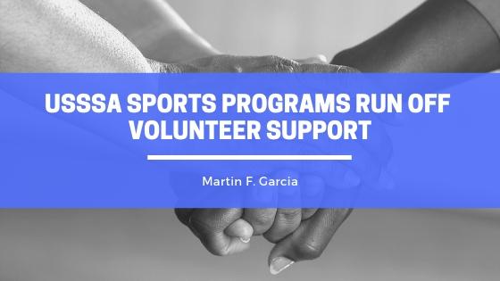 Martin F Garcia USSSA Sports Programs Run Off Volunteer Support
