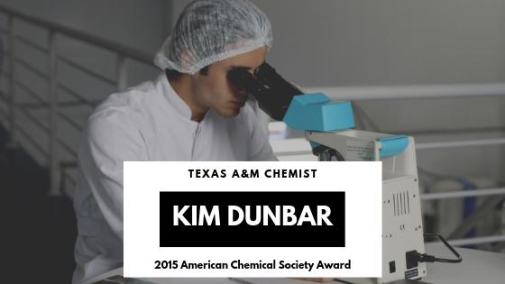 Texas AM Chemist Kim Dunbar Earns American Chemical Society Award