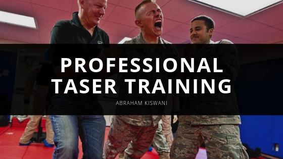 Abraham Kiswani Explains Key Elements of Professional Taser Training