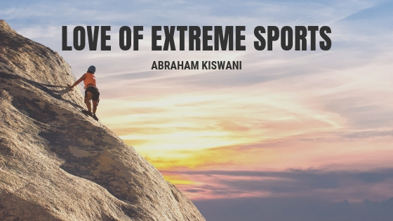 Abraham Kiswani Provides Insight Into His Love of Extreme Sports