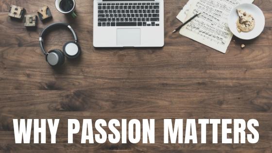 Craig Schoenfeld Explains Why Passion Matters