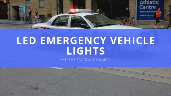 Extreme Tactical Dynamics Emergency Lighting Vehicles