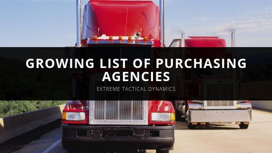 Extreme Tactical Dynamics Growing List of Purchasing Agencies