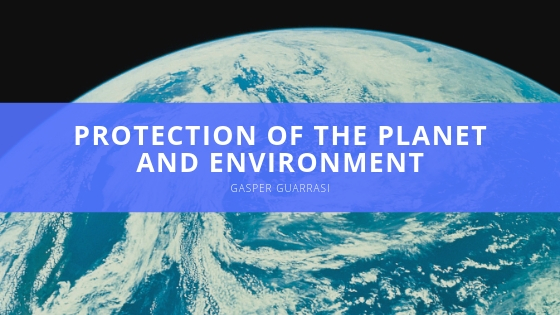 Gasper Guarrasi offers a closer look at his support for the protection of the planet and environment