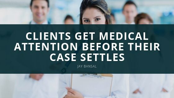 Jay Bansal's Start-Up, Midwest Medical Services, LLC Helps Clients Get Medical Attention Before their Case Settles