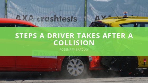 Rosemary Barclay Discusses the Initial Steps a Driver Takes After a Collision