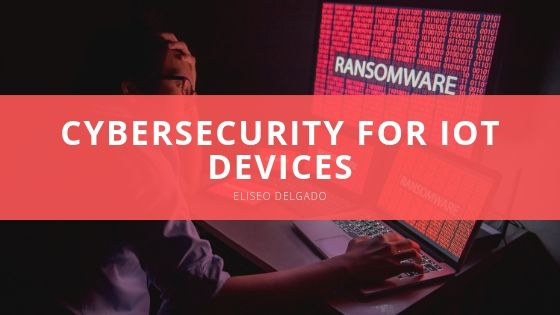 Eliseo Delgado Cybersecurity for IoT Devices