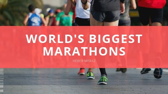 Heber Meraz Reveals World's Biggest Marathons
