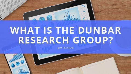 Kim Dunbar What is the Dunbar Research Group