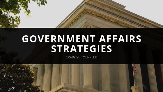 Craig Schoenfeld Launches Government Affairs Strategies