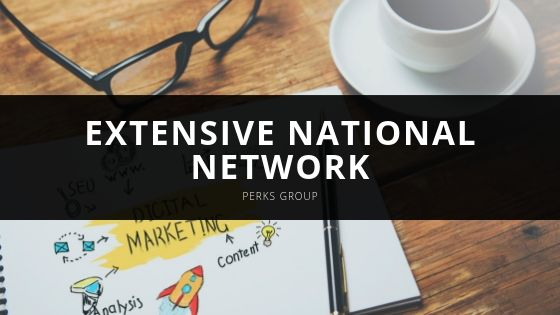 Perks Group Extensive National Network