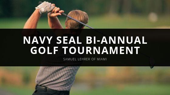 Samuel Lehrer of Miami Participates in Navy SEAL Bi-annual Golf Tournament in Jupiter, FL