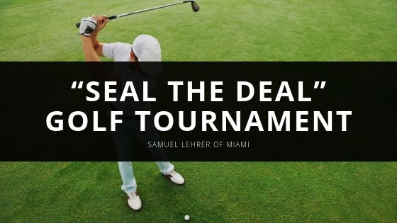 """Samuel Lehrer of Miami Is a Contributor to National Navy Seal Museum Via """"seal the Deal"""" Golf Tournament."""