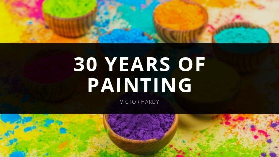 Victor Hardy Offers Insight As to 30 Years of Painting