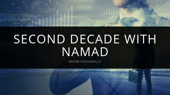 Rahim Hassanally Second Decade With Namad