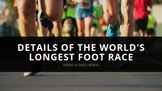 Heber Alonzo Meraz Uncovers Details of the World's Longest Foot Race