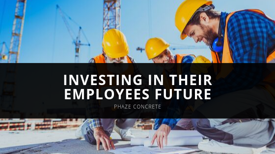 Phaze Concrete Invests in their Employees Future