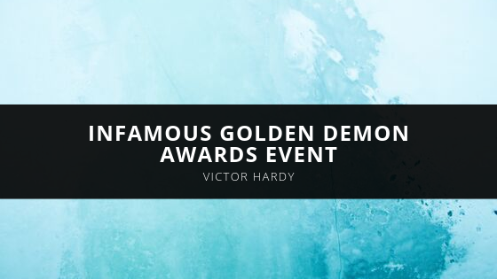 Victor Hardy infamous Golden Demon Awards Event