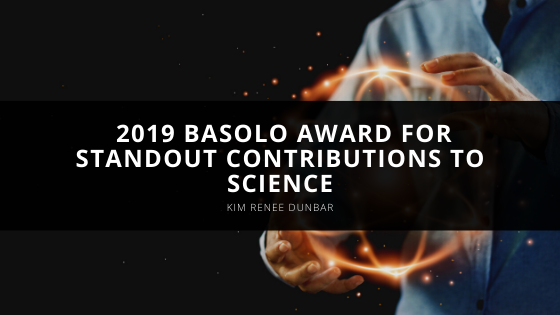 Kim Renee Dunbar Receives 2019 Basolo Award for Standout Contributions to Science