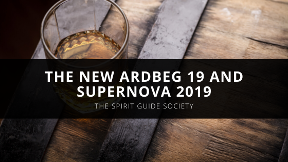 The Spirit Guide Society's Pedro Shanahan Helps Launch The New Ardbeg 19 and Supernova 2019 with Brendan McCarron