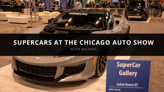 Peter Machinis Talks Supercars at the Chicago Auto Show