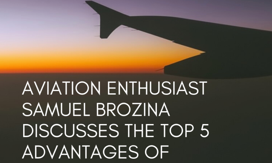 Samuel Brozina Aviation Enthusiast Top